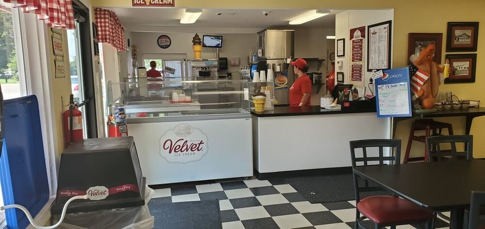 Pleasant Valley Shake Shoppe Interior