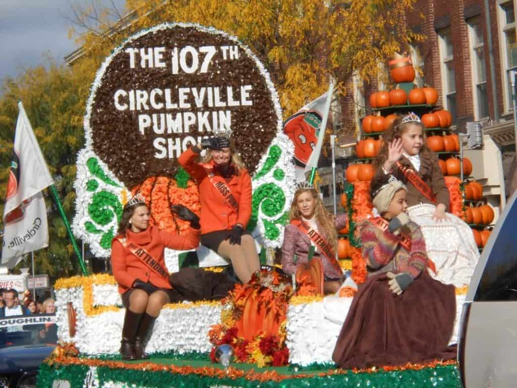 Pumpkin Show Queen Little Miss and Courts
