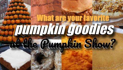 Pumpkin Show favorite food