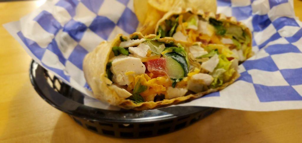 Santino's Chicken BLT with Tomato Wrap