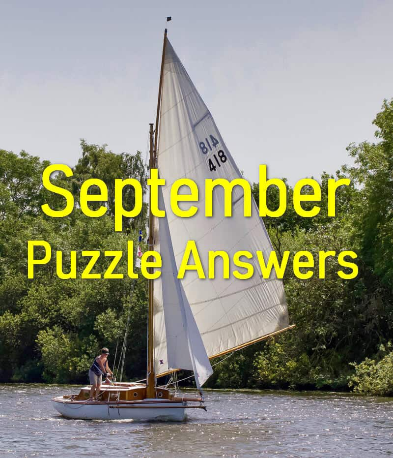 September 2019 Dimple Times Newspaper Puzzle Solutions