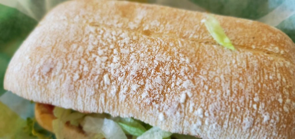 New Ciabatta bread at Subway