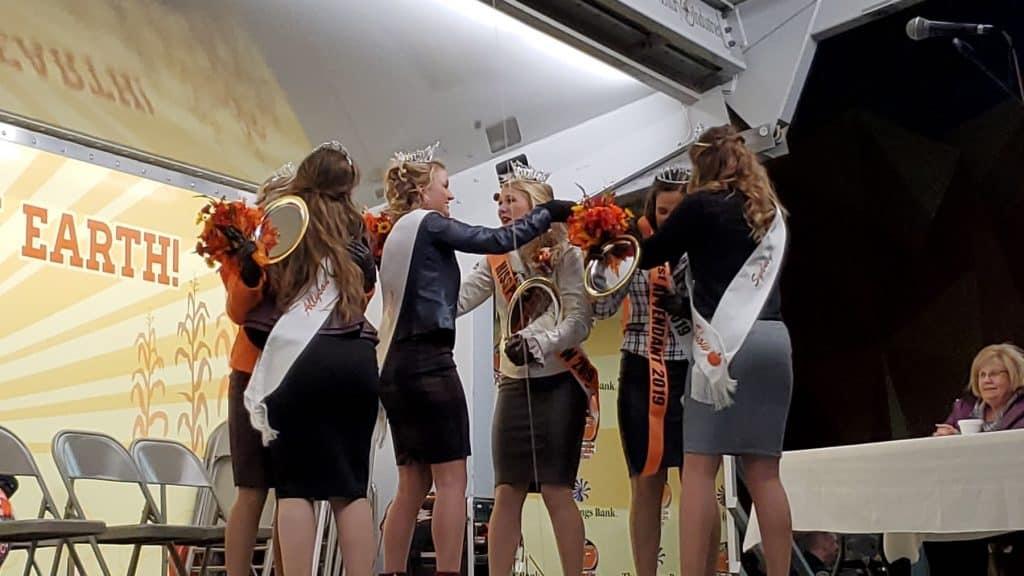 2018 Miss Pumpkin Show Royal Court Crowing 2019 Queen & Attendants