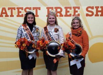 2019 Circleville Miss Pumpkin Show Queen, 2nd Attendant and 1st Attendant