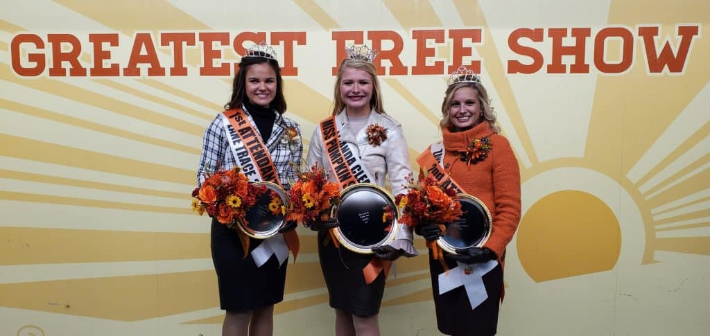 2019 Miss Pumpkin Show and her Court crowned in Circleville