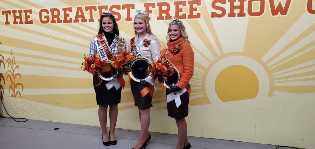 2019 Miss Pumpkin Show Royal Court