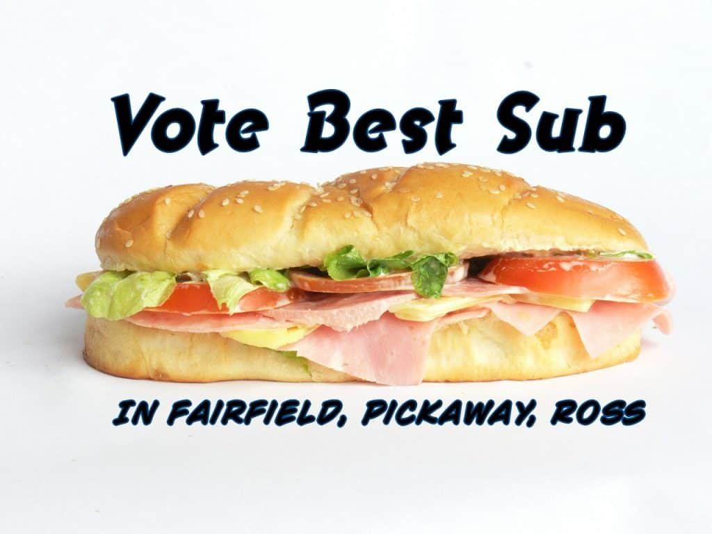 Who has the best SUB in Fairfield, Pickaway and Ross Counties?