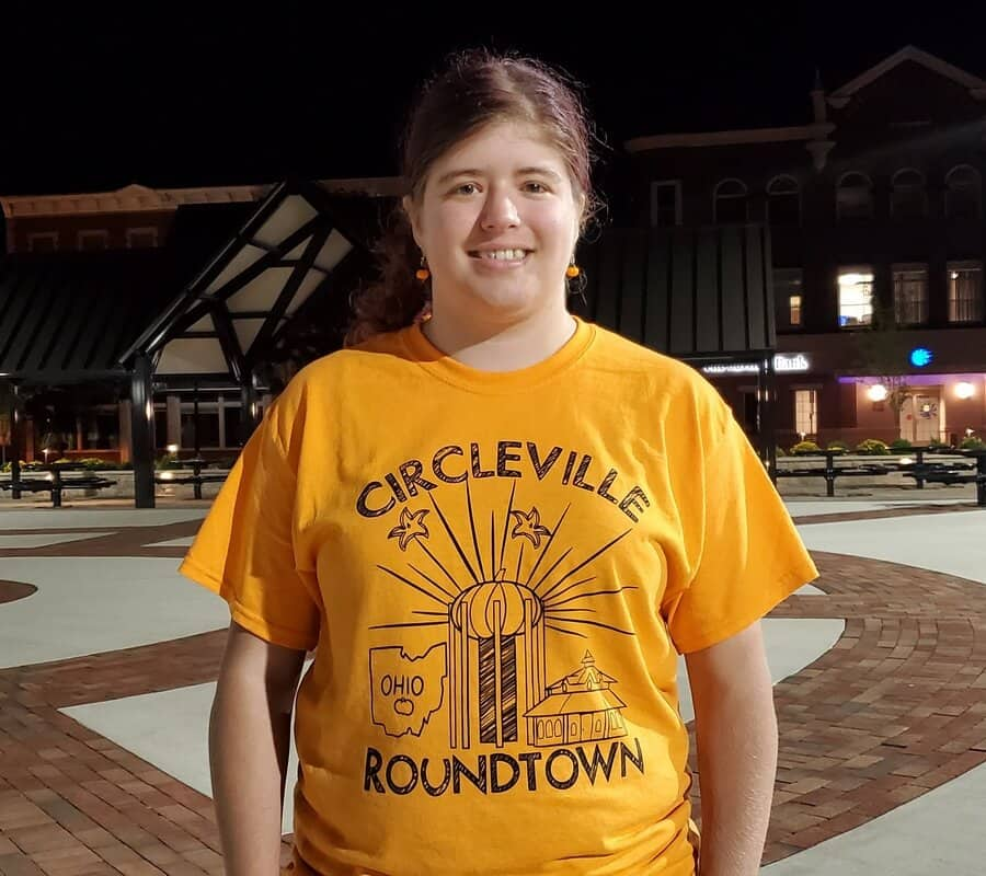 Circleville Roundtown Montage T-Shirt - Orange