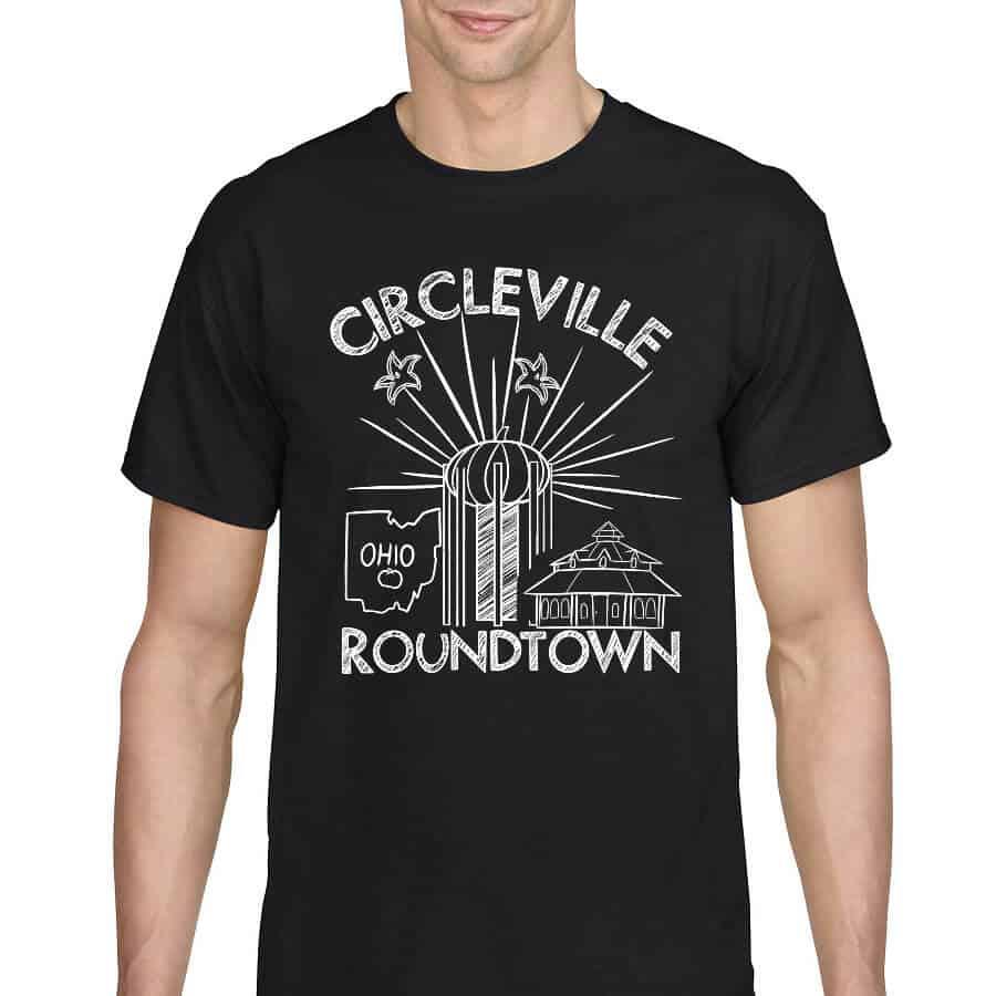 Circleville Roundtown Montage T-Shirt - Black