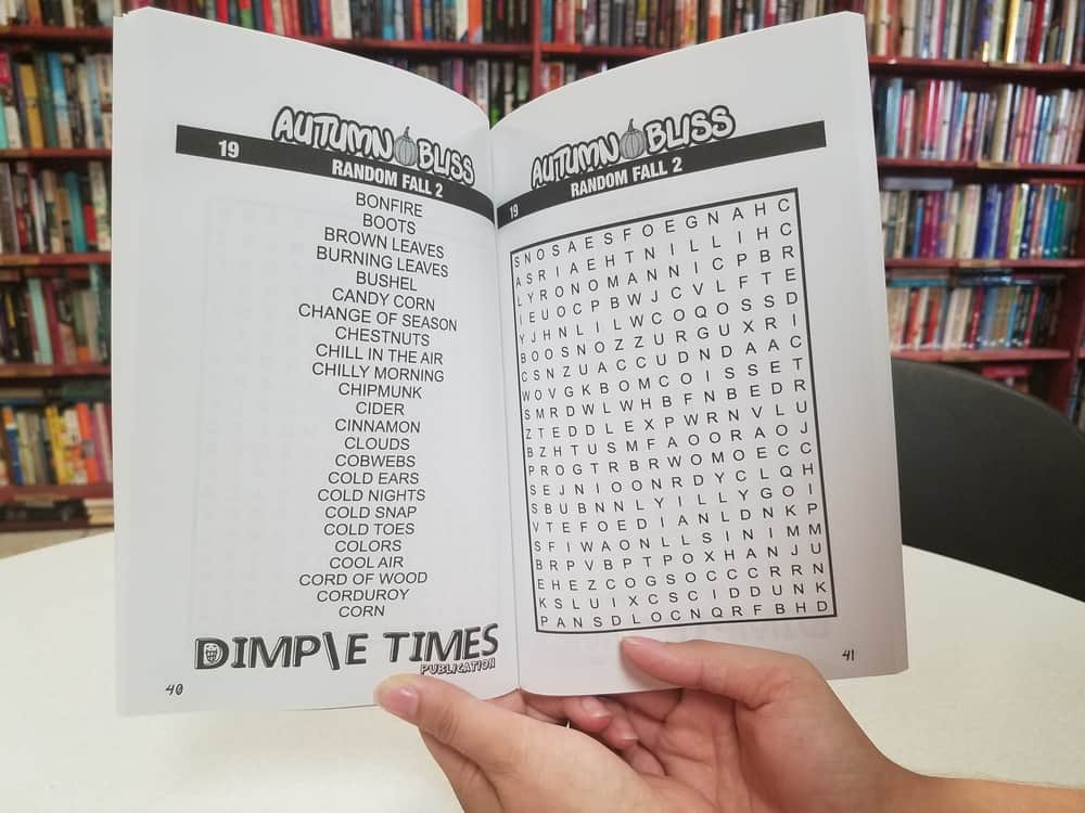 Autumn Bliss Word Search Book