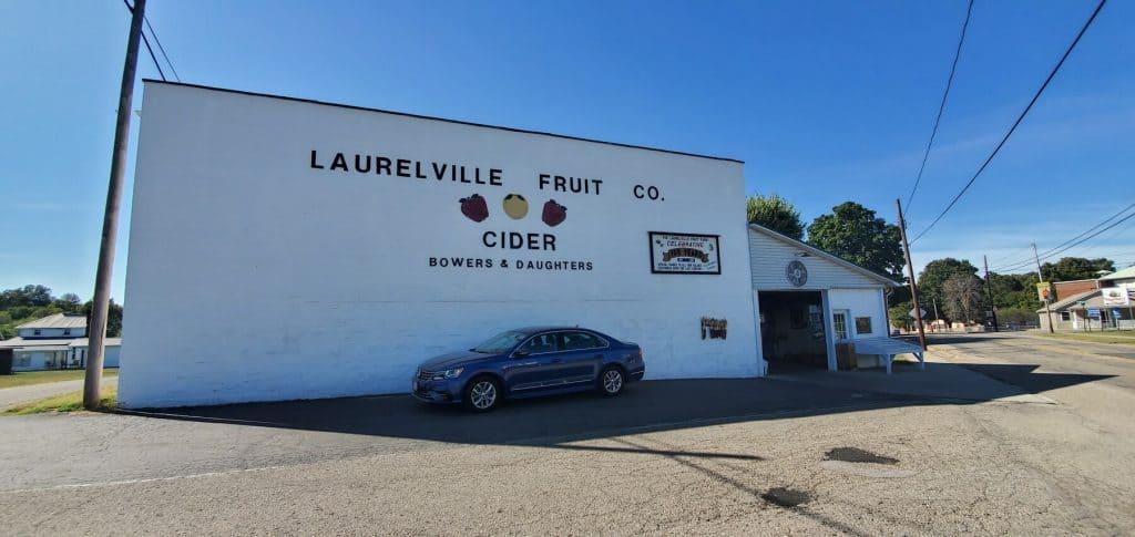 Laurelville Fruit Co in Laurelville, Ohio