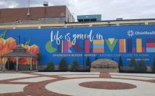 Ohio Health Life is Gourd in Circleville backdrop on Frontier