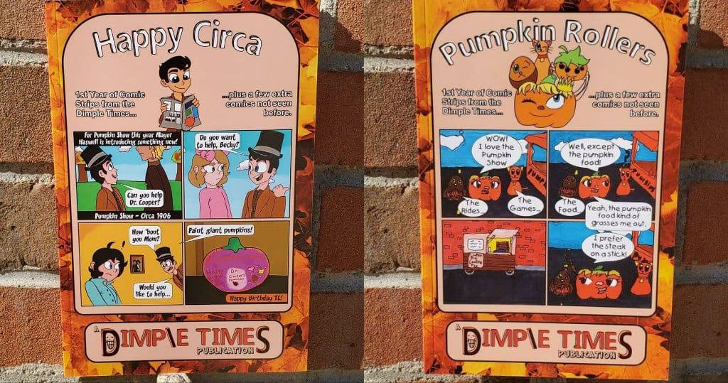 Pumpkin Rollers & Happy Circa Comic Book - Isaac & Rachel Esteph