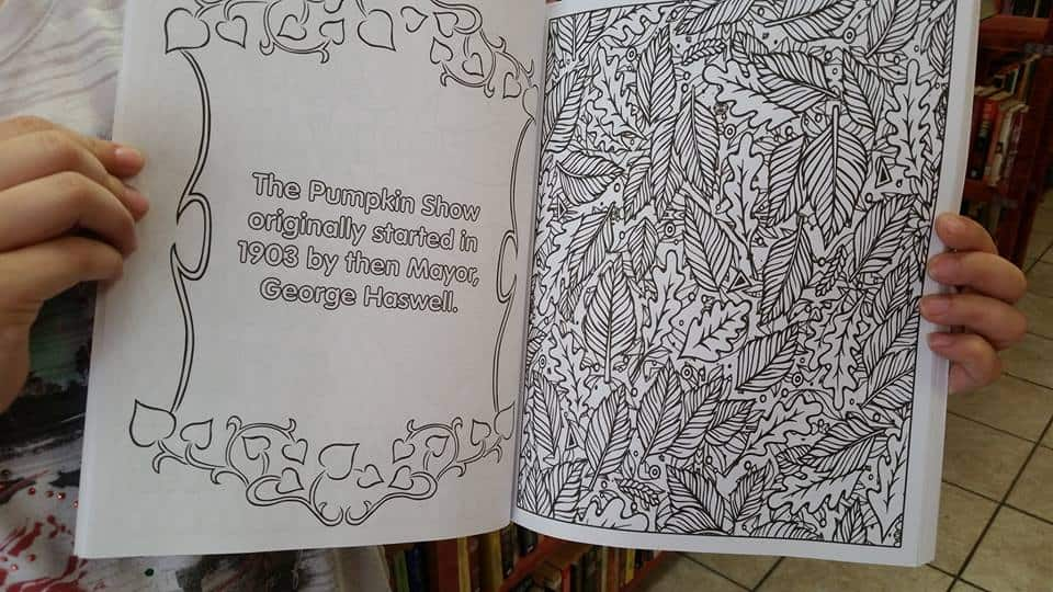 Pumpkin Show Coloring Book