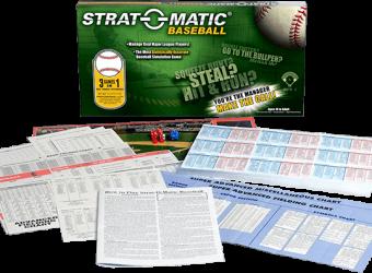Strat-o-Matic Baseball boardgame review