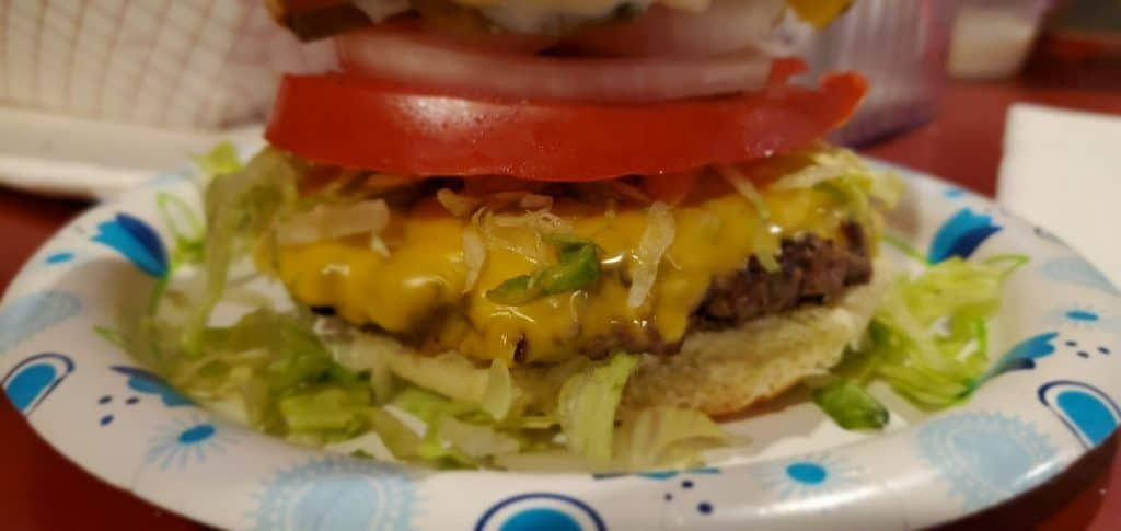 Thirsty Parrot Classic Cheeseburger