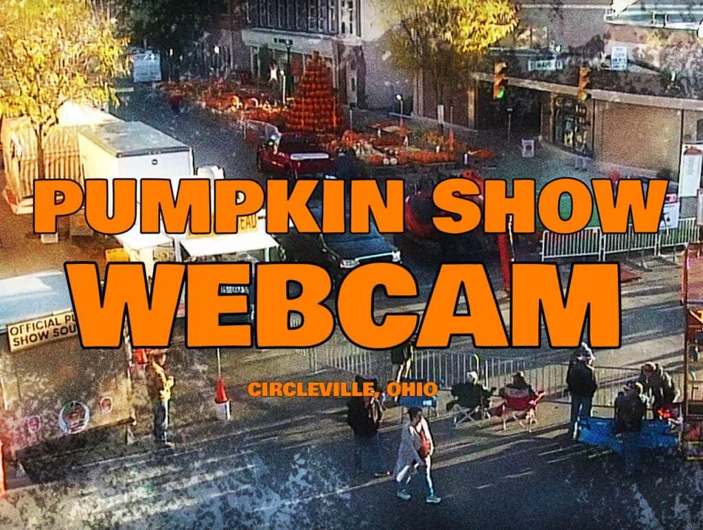 Pumpkin Show Live Webcam 2019
