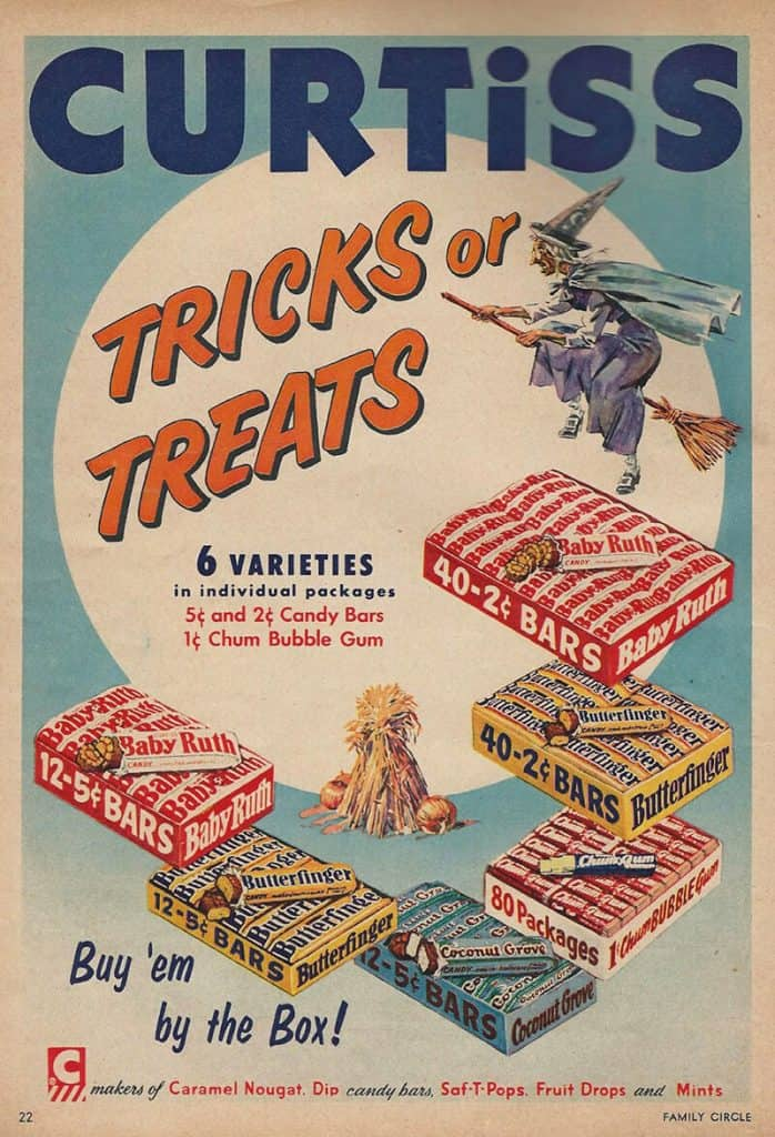Some Halloween candy spans generations