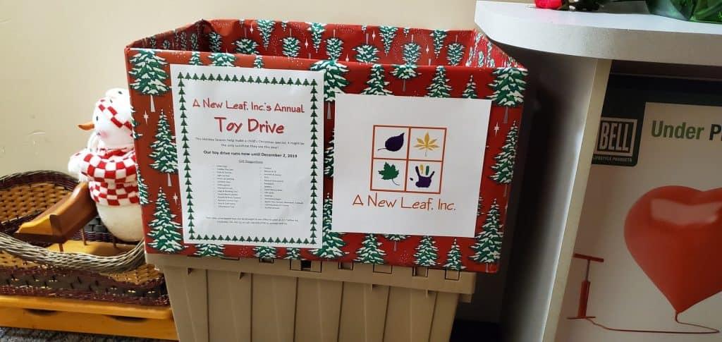 Donation Box at Health Food Cupboard