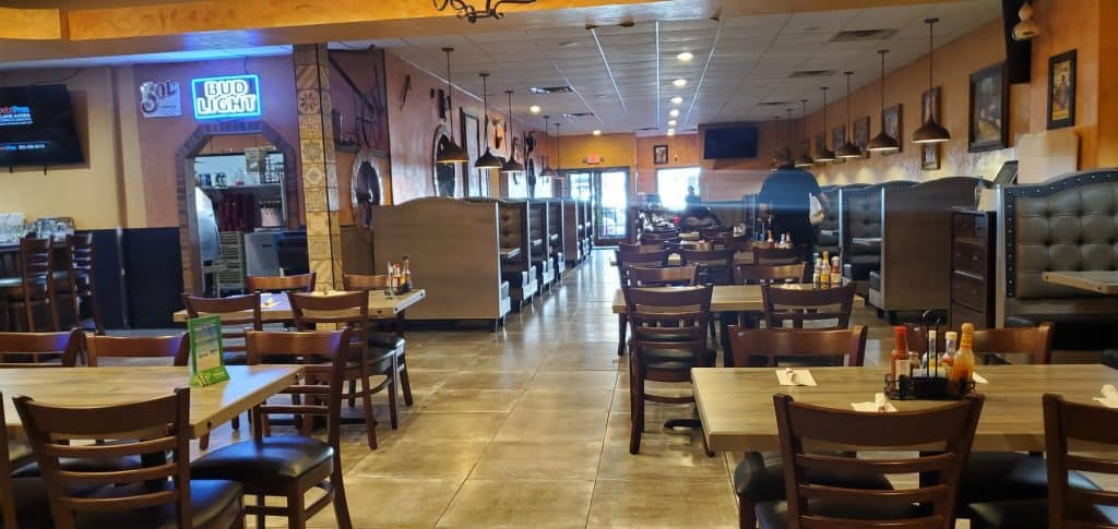 El Pedregal Dining Area