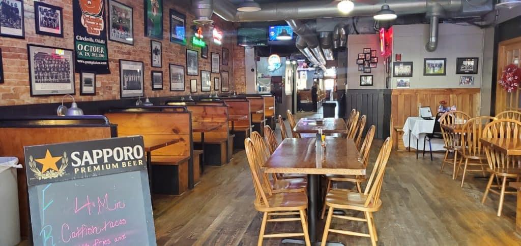 Gibby's Eatery Area