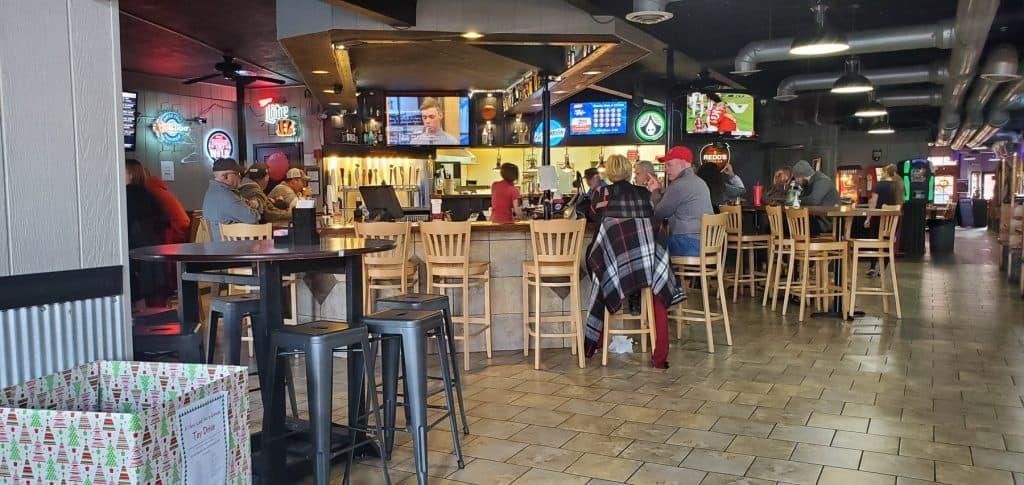 Gibby's Eatery and Bar Area