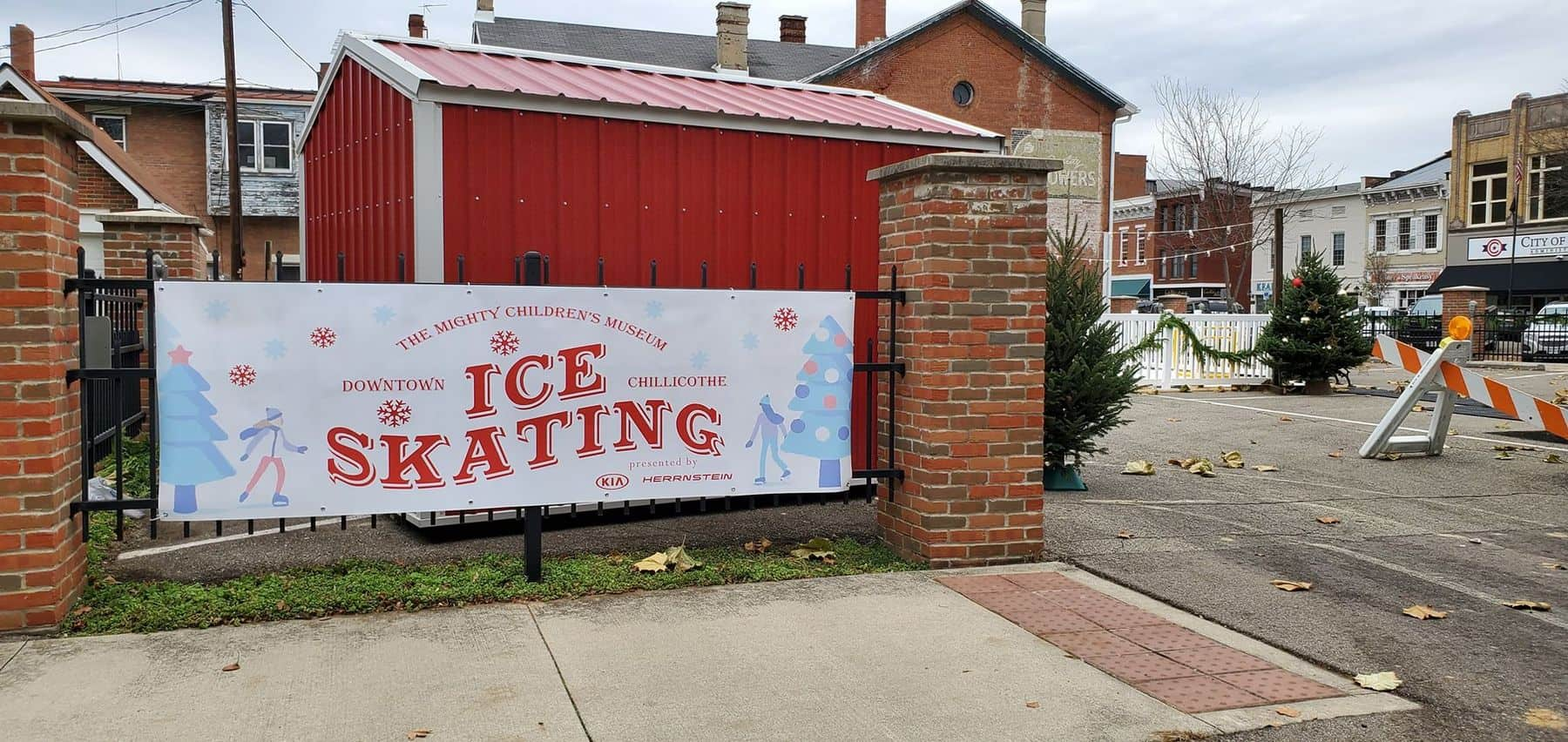 The Mighty Children's Museum Ice-Skating Rink in Downtown Chillicothe Ohio