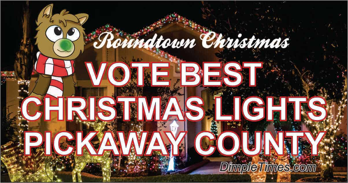 Vote best Christmas lights Pickaway County
