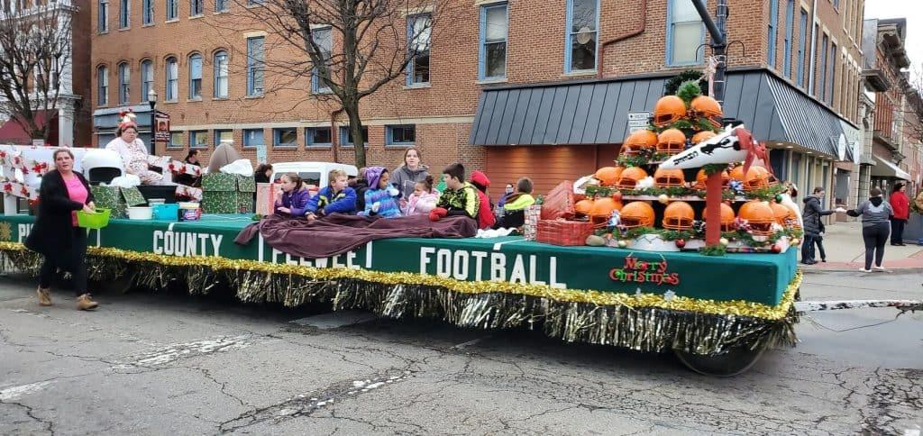 Most Spirited: Pickaway County Pee Wee Football