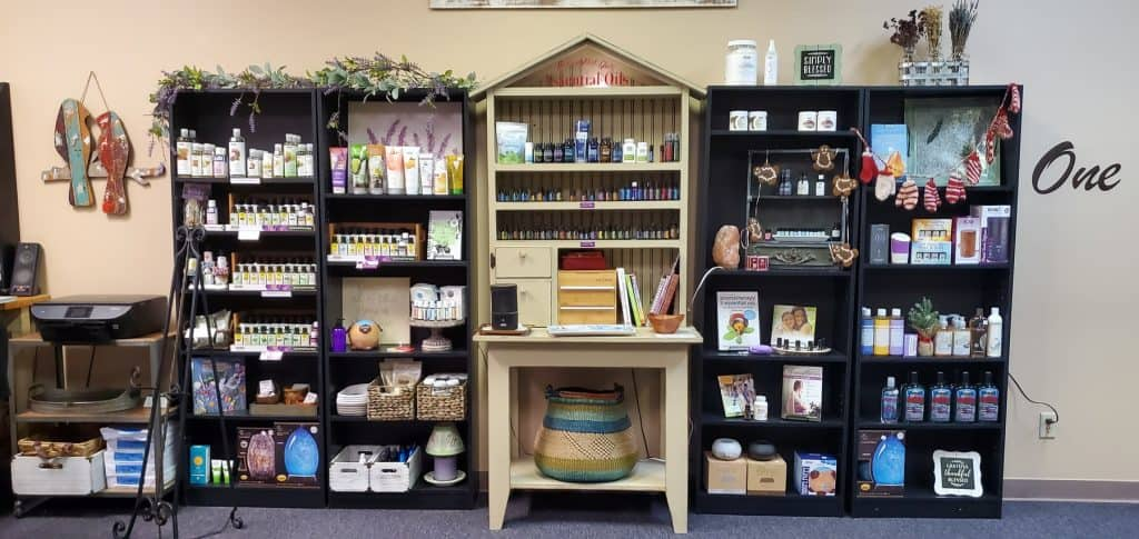Essential Oil Section inside Healthy Life Solutions