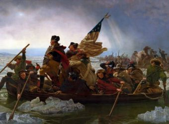 Fate of America turned on the Christmas Crossing