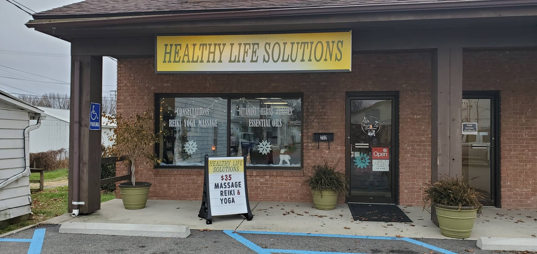 Healthy Life Solutions in Downtown Lancaster Ohio