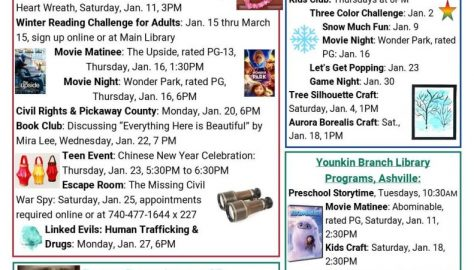 January Events page