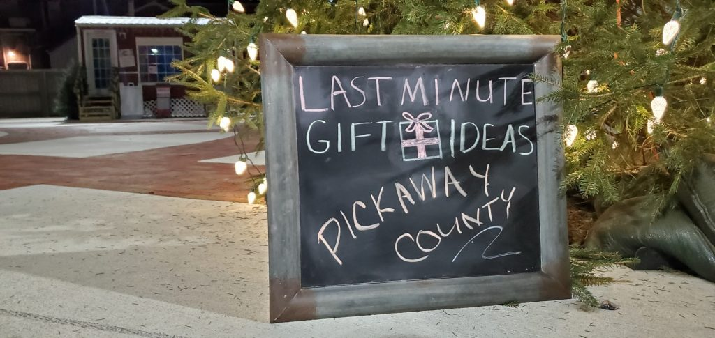 Last minute Christmas gift ideas in Pickaway County
