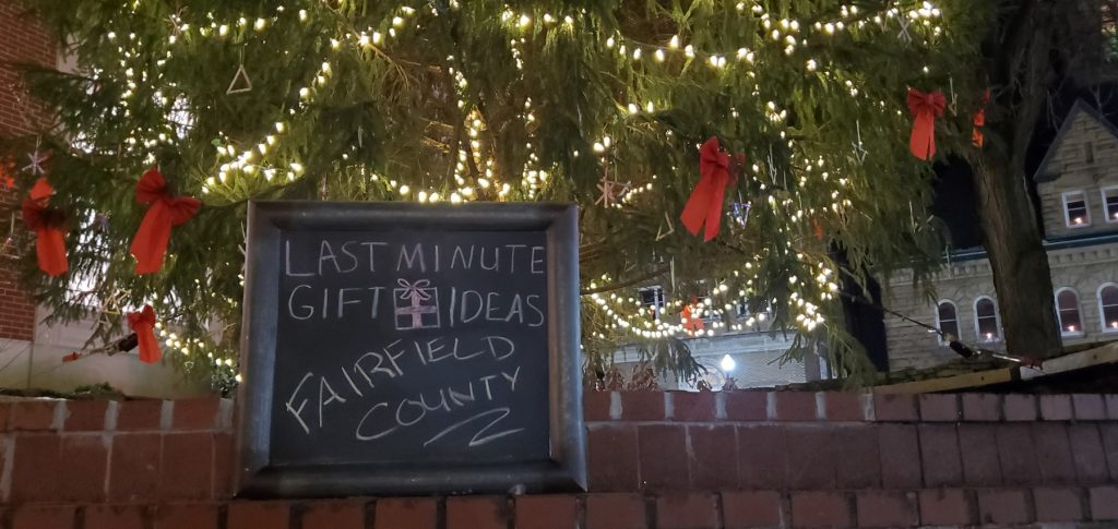 Last minute Christmas gift ideas in Fairfield County