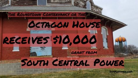 Octagon House grant from South Central Power