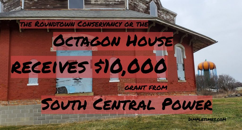 Octagon House receives grant from South Central Power