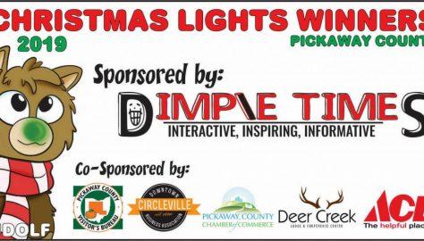Rudolf Roundtown Christmas Light Up contest 2019 winners