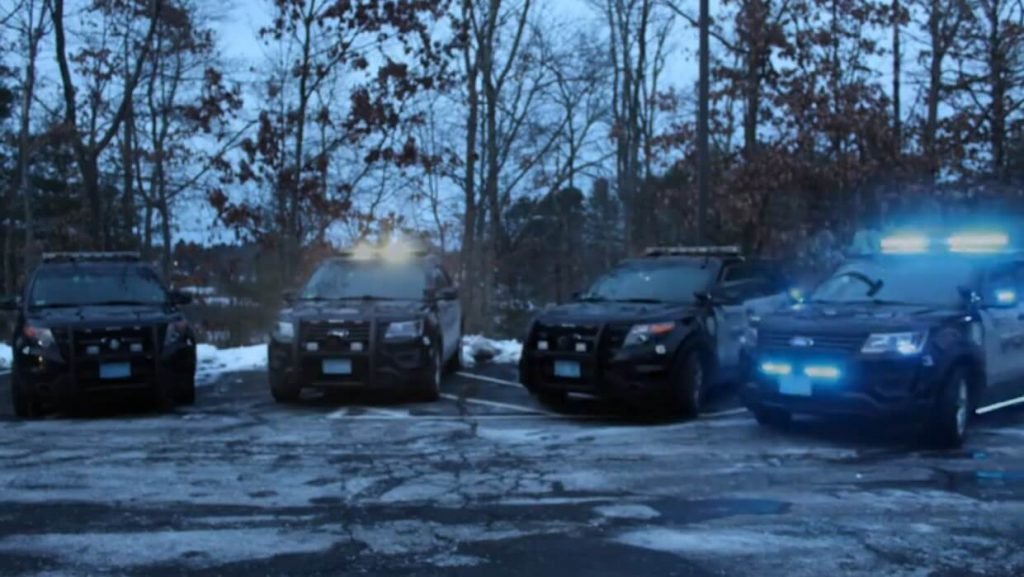 15 year old synchronizes police lights to Trans-Siberian Orchestra