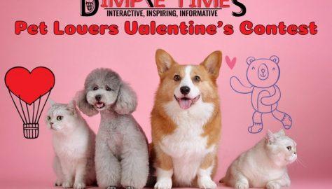 Pet Lovers Valentines Contest 2020