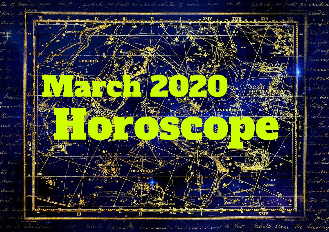 March 2020 horoscope constellation