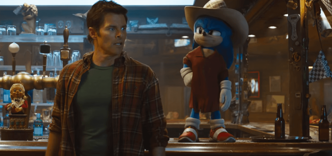 Sonic the Hedgehog Movie - Admissions of a Movie Fanatic