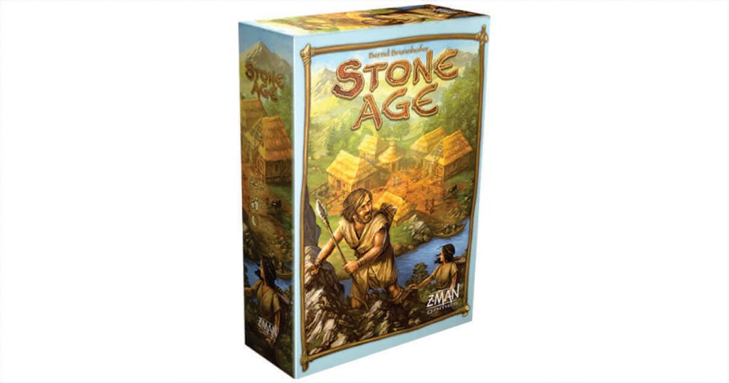 Stone Age Z-Man Games - Boardgame Review
