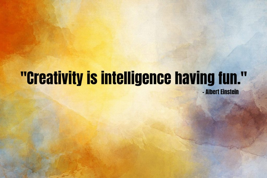 Use your creativity to your advantage