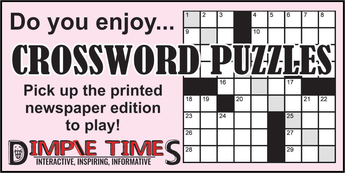 Crossword Puzzles Social Media ad