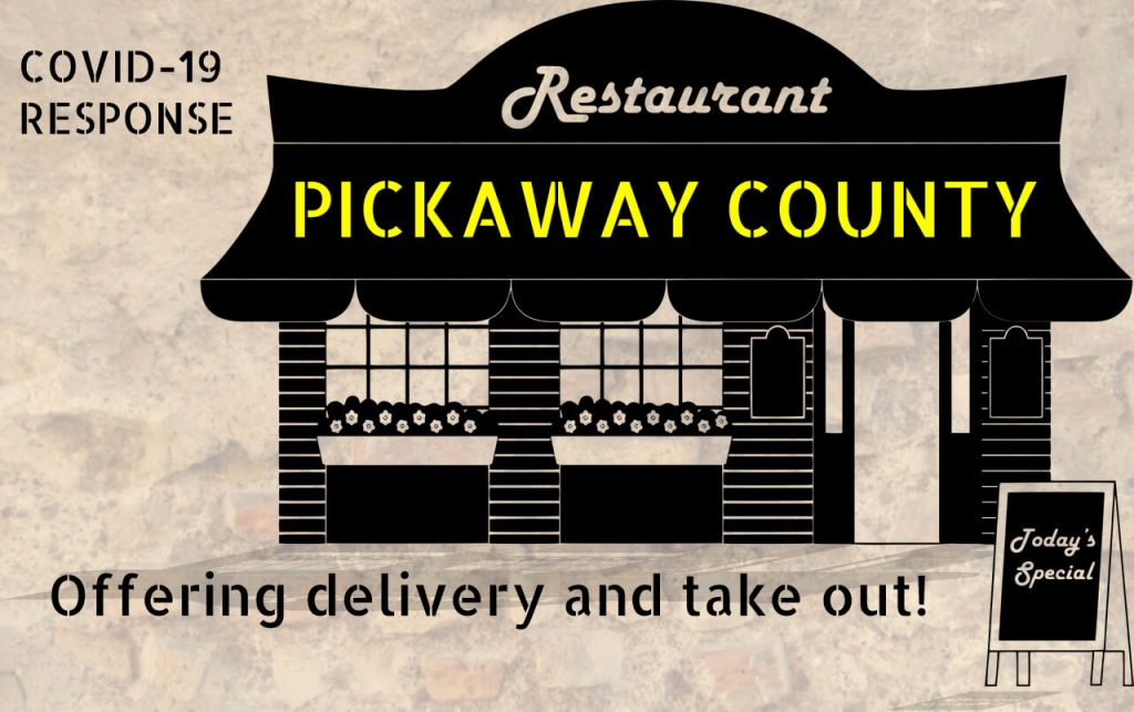 Pickaway County Restaurants offering delivery and take out