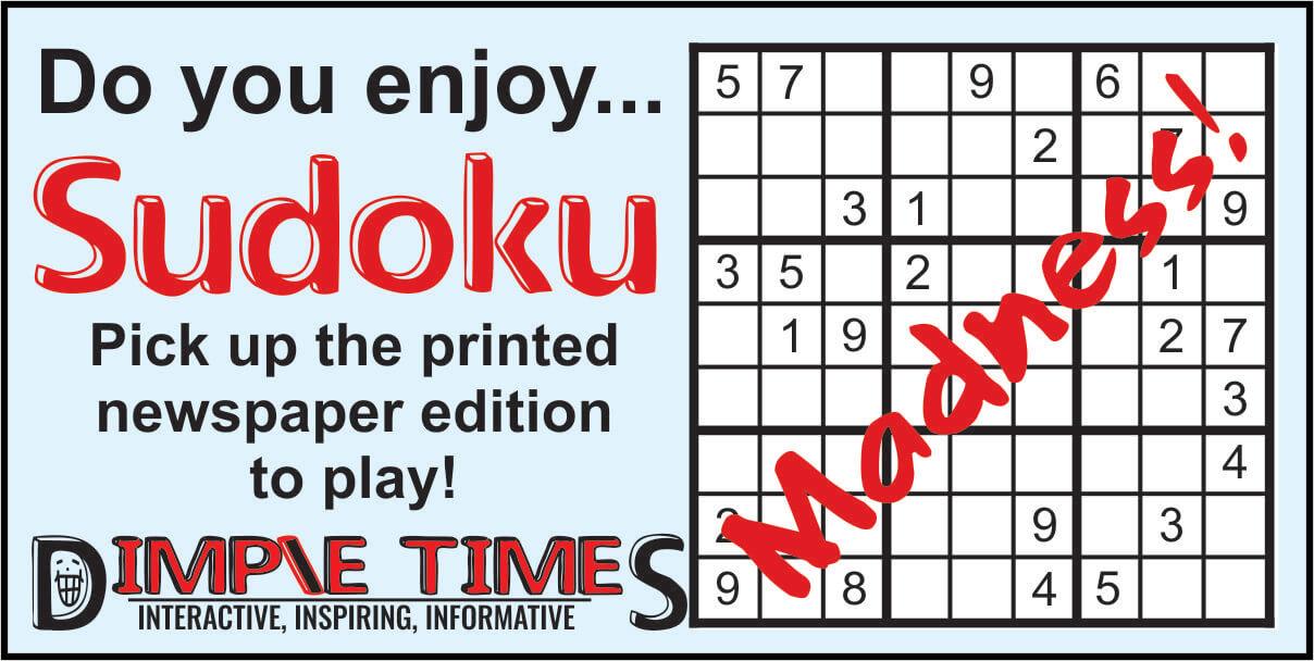 Sudoku Madness Social Media ad