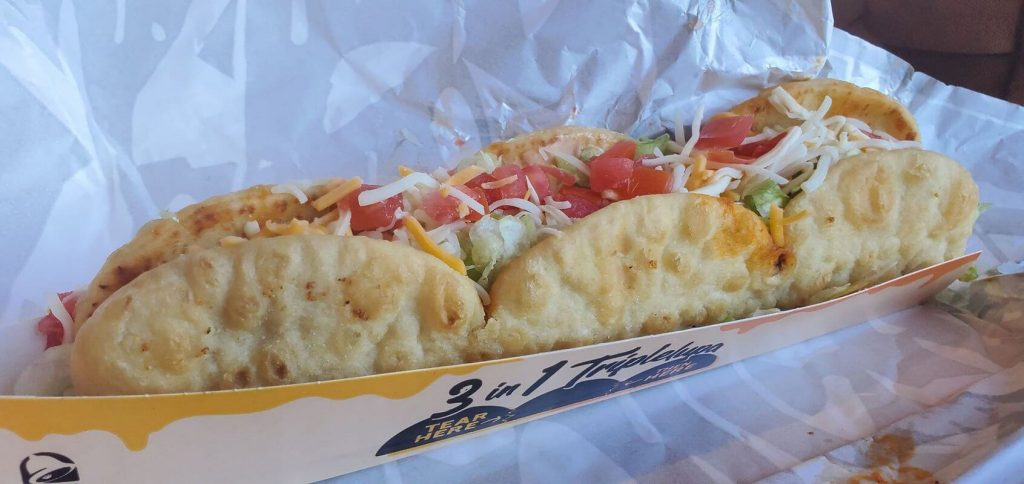Good things come in threes with Taco Bell's Triplelupa