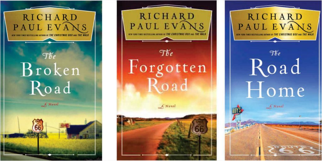The Broken Road Trilogy By Richard Paul Evans - Book Review