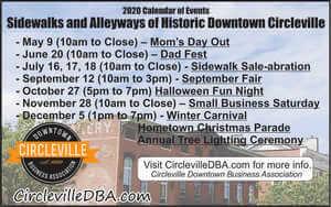 Circleville DBA 2020 activities